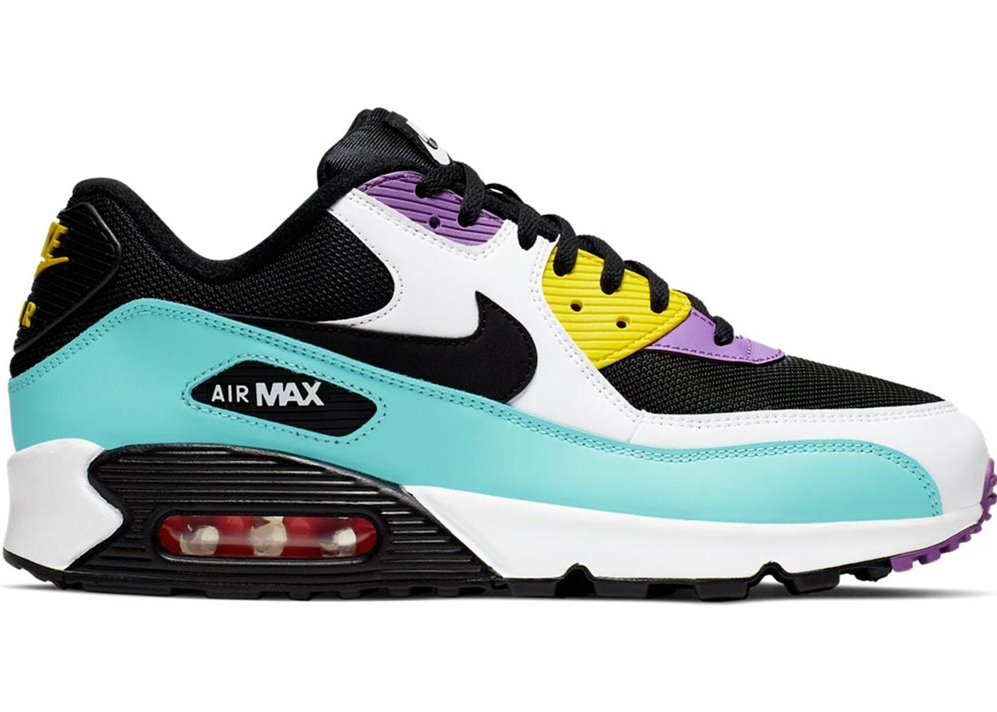 separation shoes 9e6f5 3ccb8 Air Max 90 Black Bright Violet White
