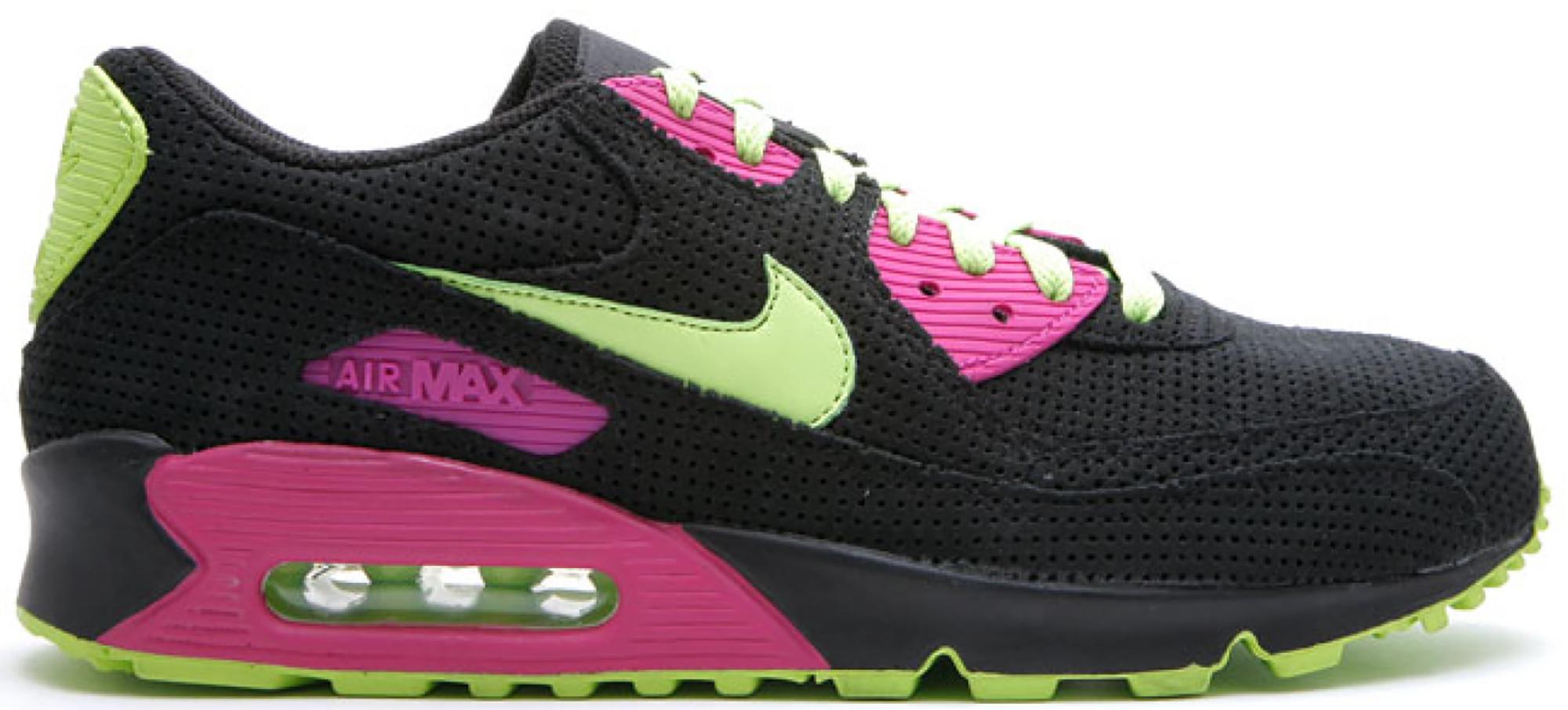Nike Air Max 90 Black Citron Rave Pink