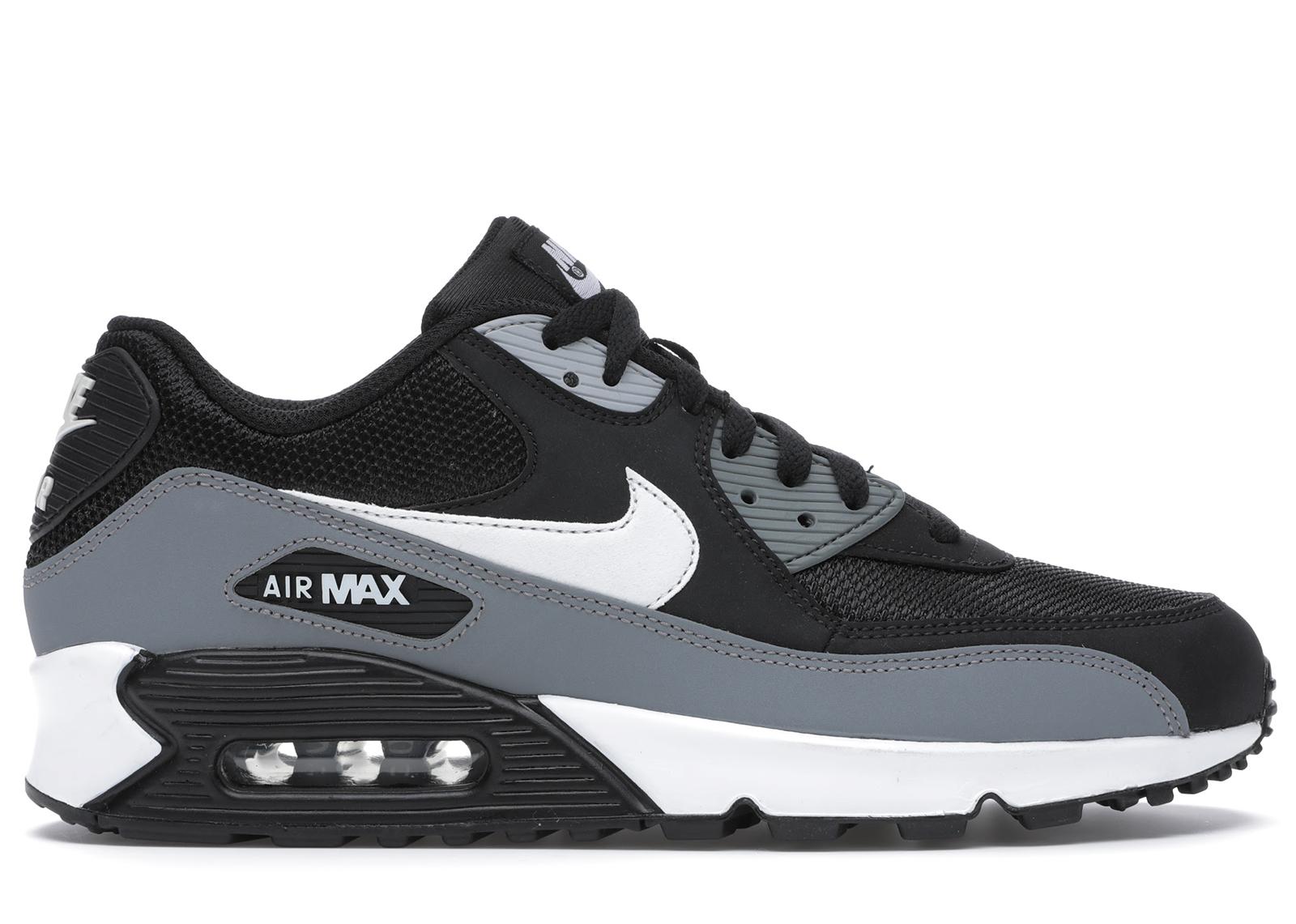 Nike Air Max 90 Black Cool Grey White