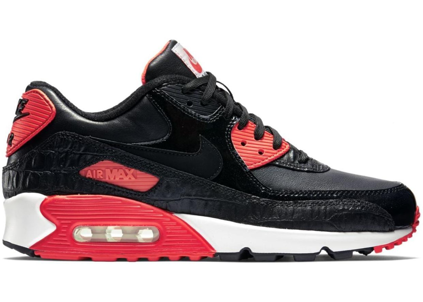 low priced ec08f 5caef Sell. or Ask. Size  12. View All Bids. Air Max 90 Black Croc Infrared