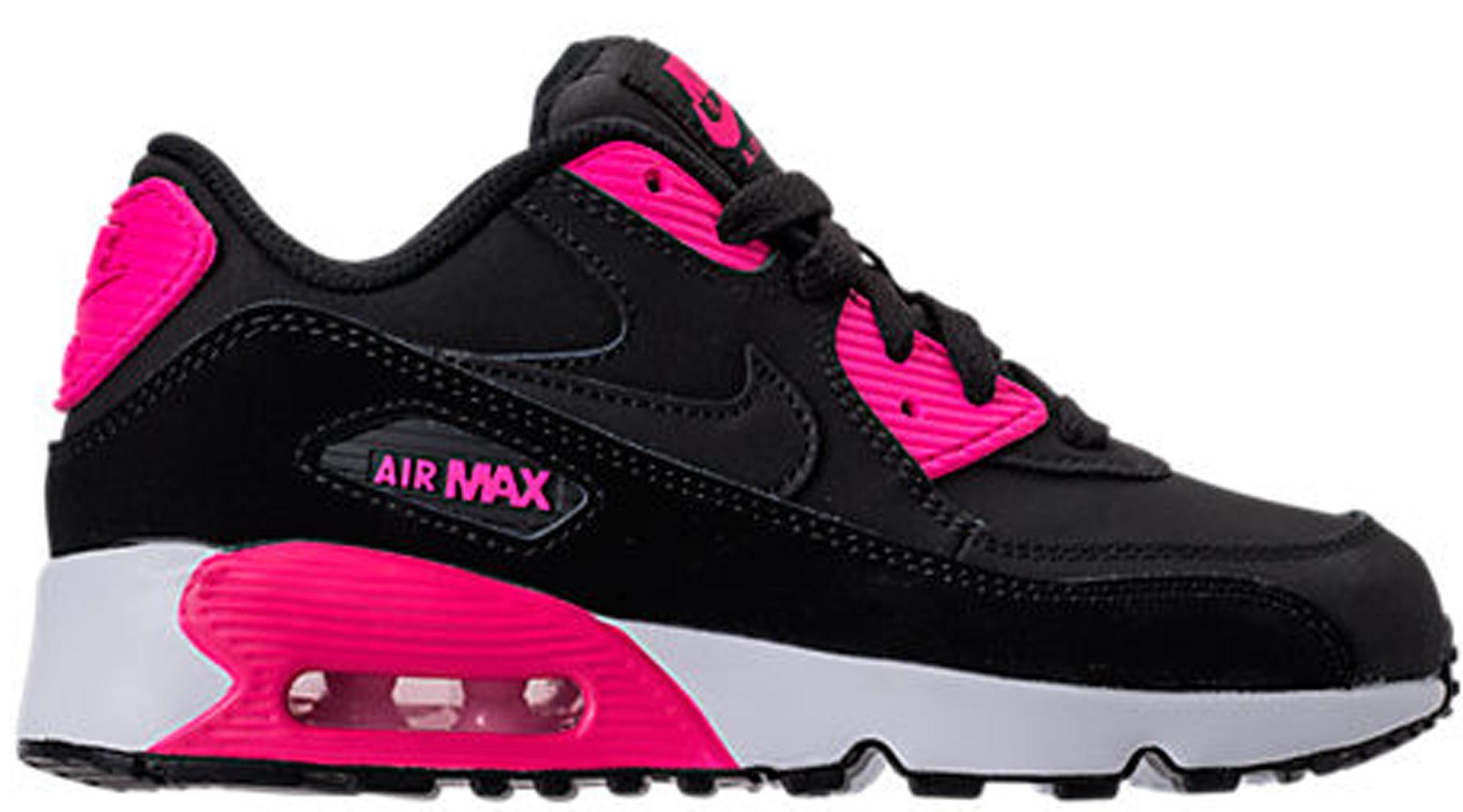 nike air max 90 black pink