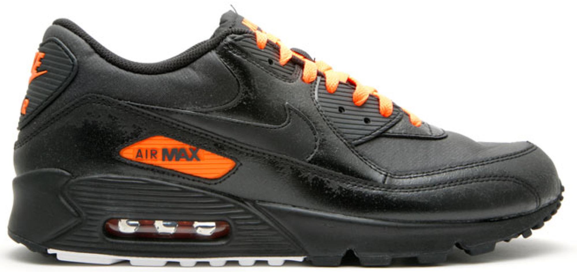 Nike Air Max 90 Black Total Orange