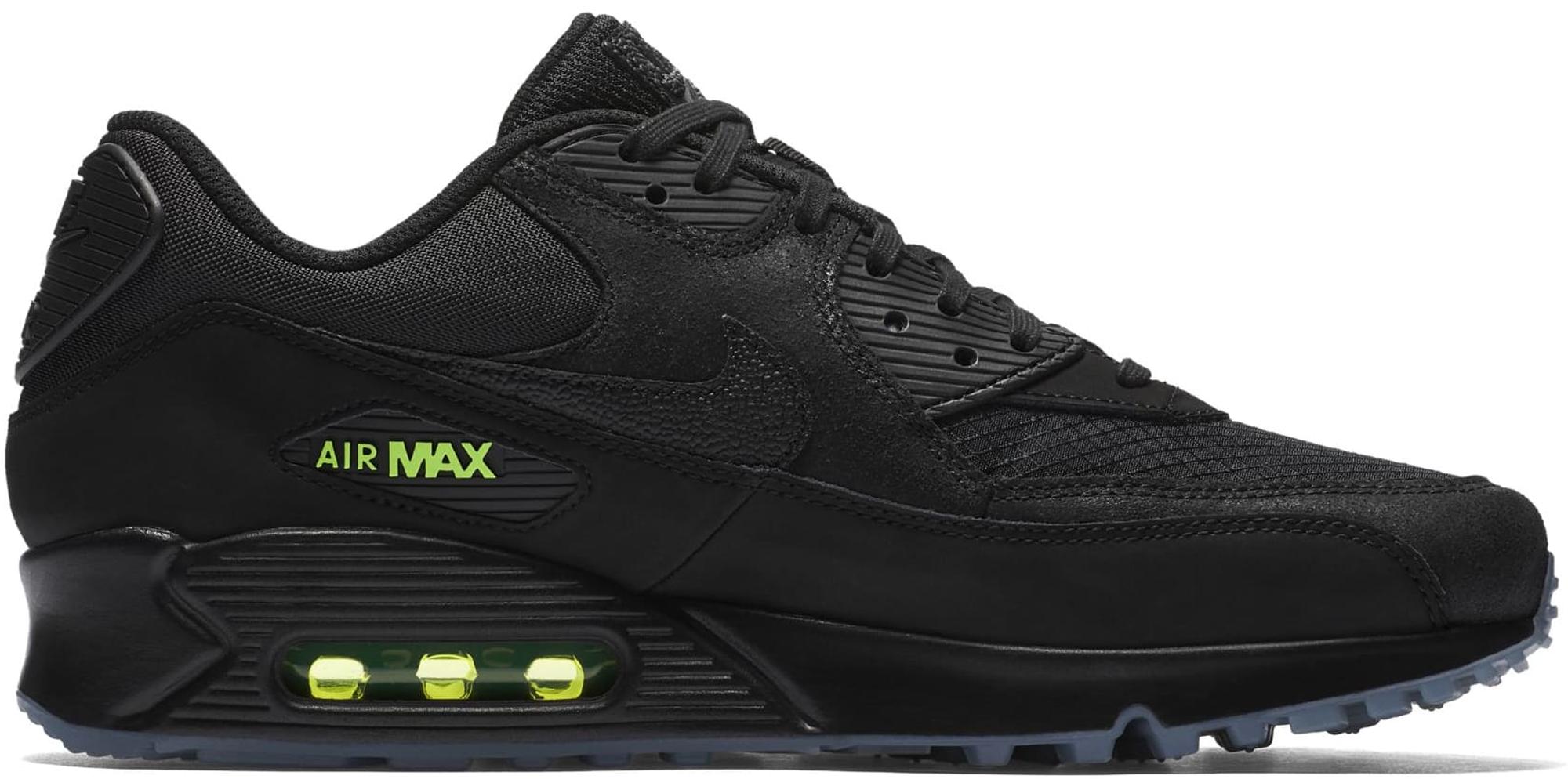 Nike Air Max 90 Black Volt - AQ6101-001