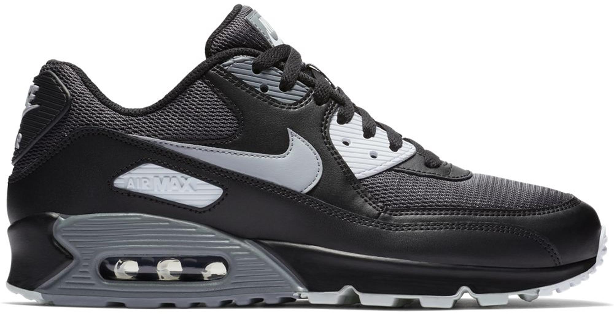 Nike Air Max 90 Black Wolf Grey Dark