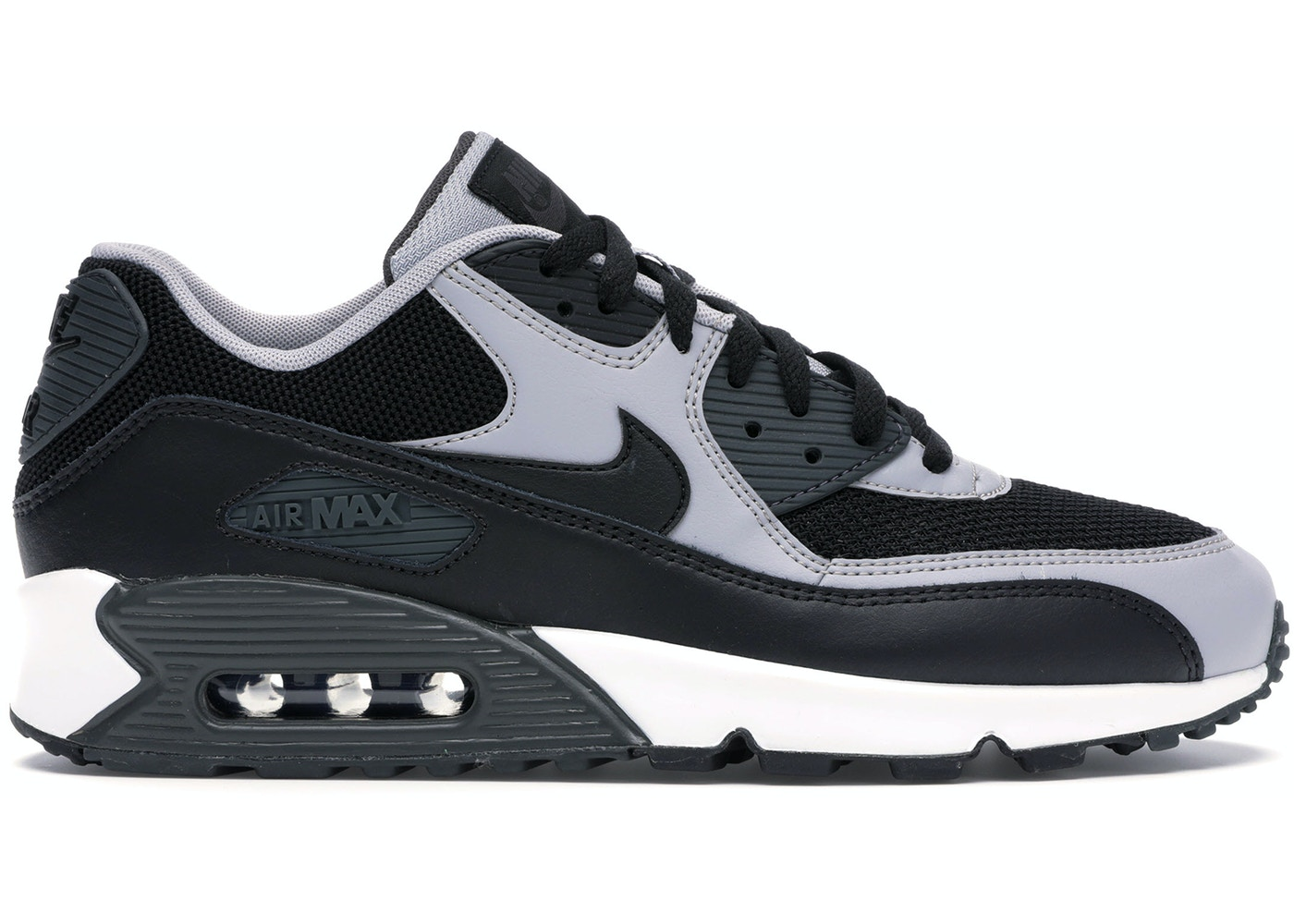 presenting save up to 80% super quality Air Max 90 Black Wolf Grey