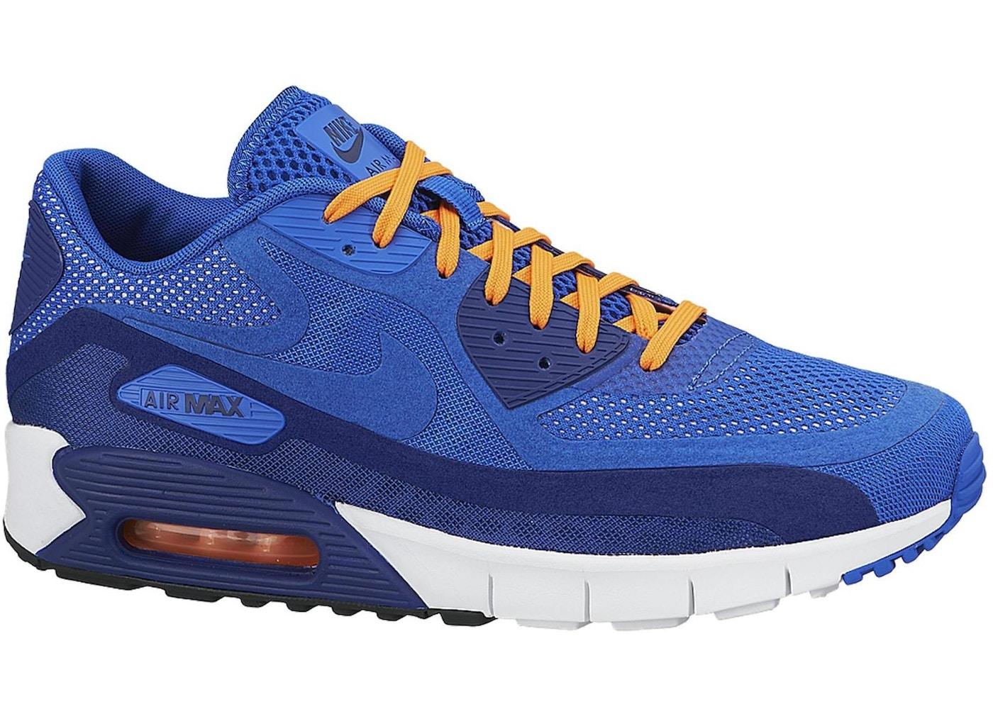 sports shoes 7ae29 52465 Air Max 90 Breathe Hyper Cobalt - 644204-400