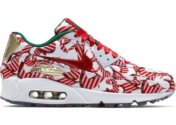 sale retailer 497dd 86a45 Air Max 90 Candy Cane Christmas 2015 (W) - 813150-101