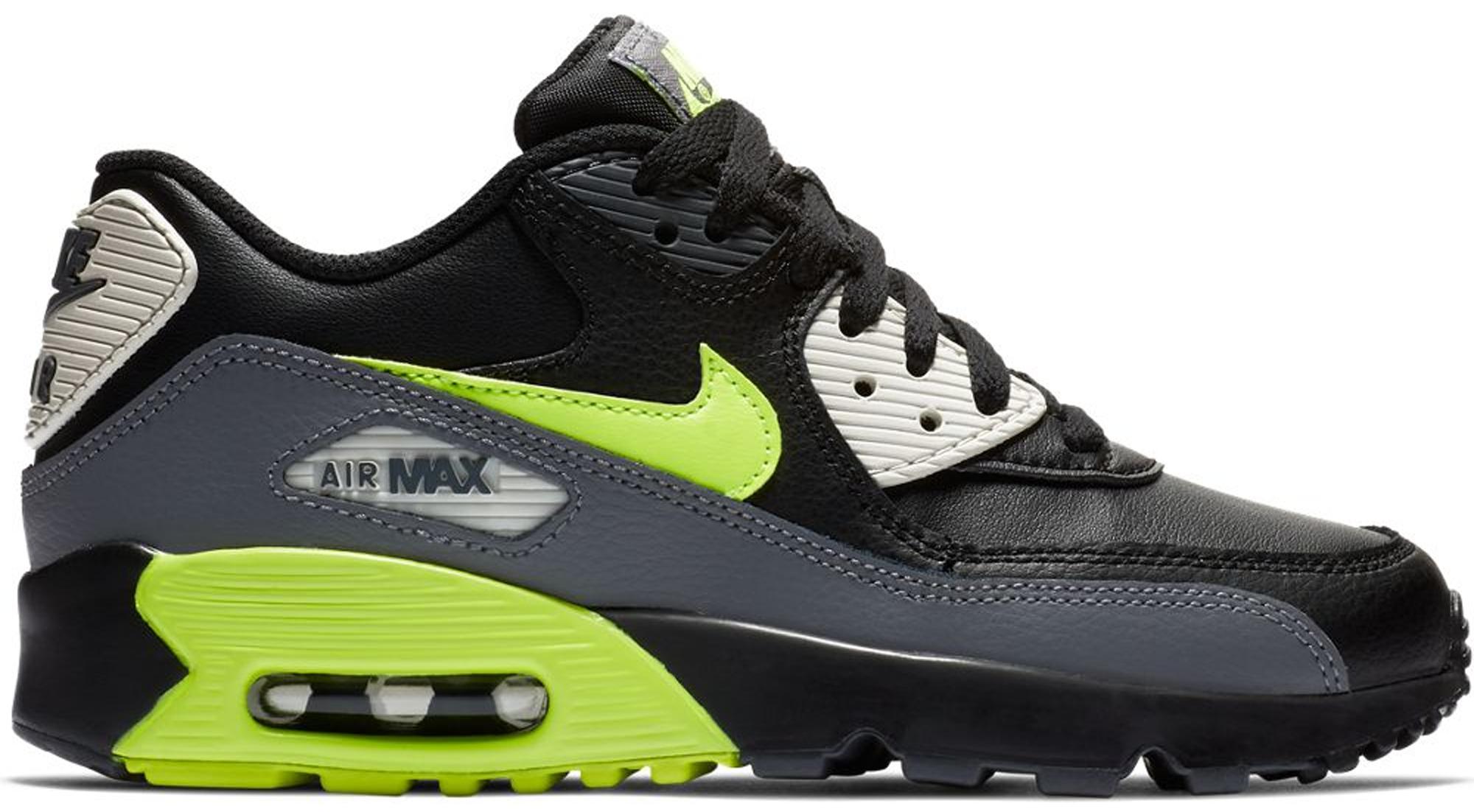 Nike Air Max 90 Dark Grey Volt Black