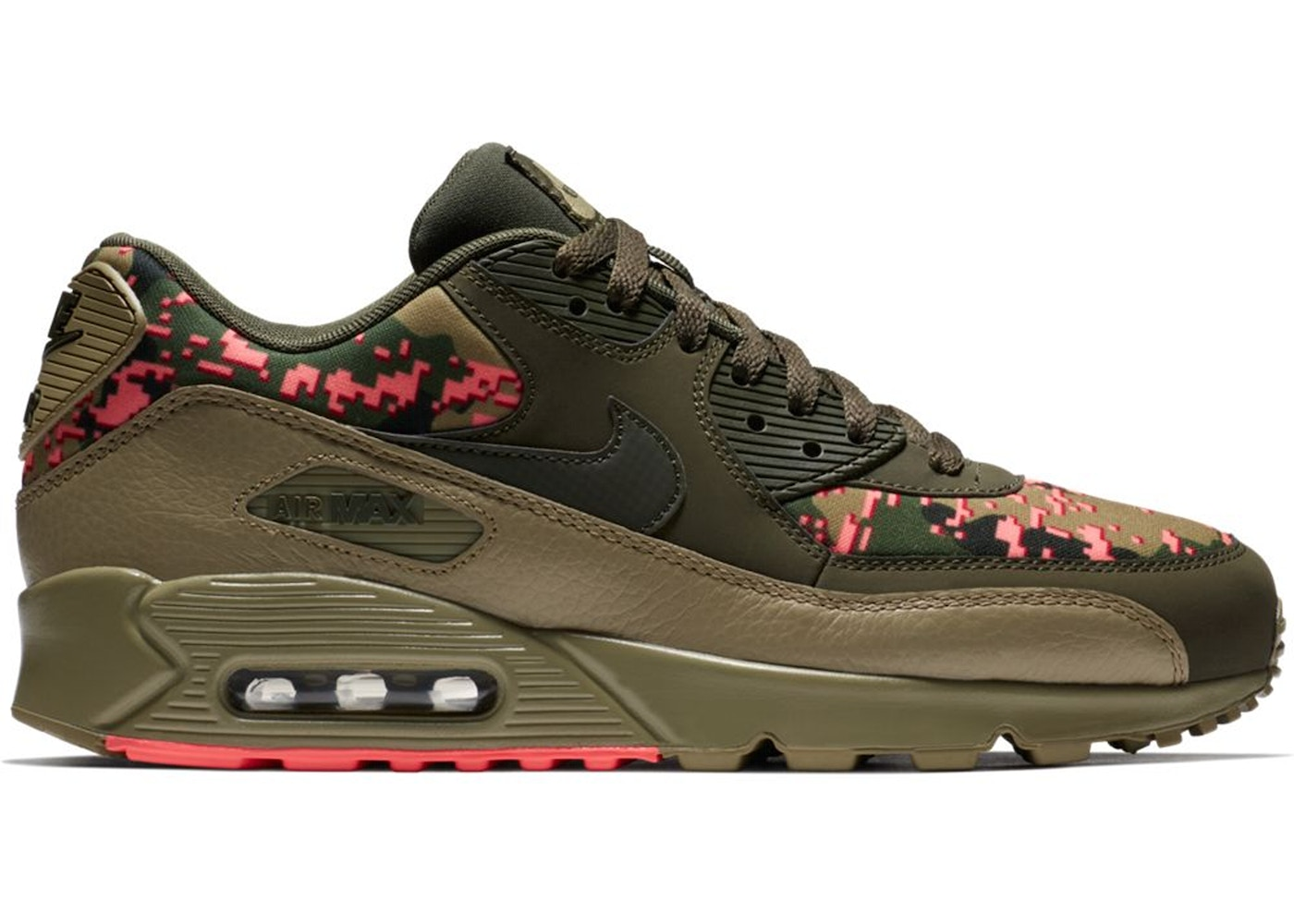 low priced 696b1 fd297 Air Max 90 Digi Camo Olive - AH8440-300