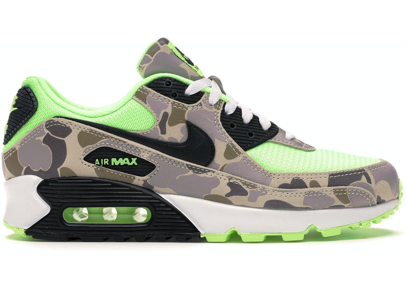 Transparentemente Viscoso Melbourne  Nike Air Max 90 Green Camo - CW4039-300