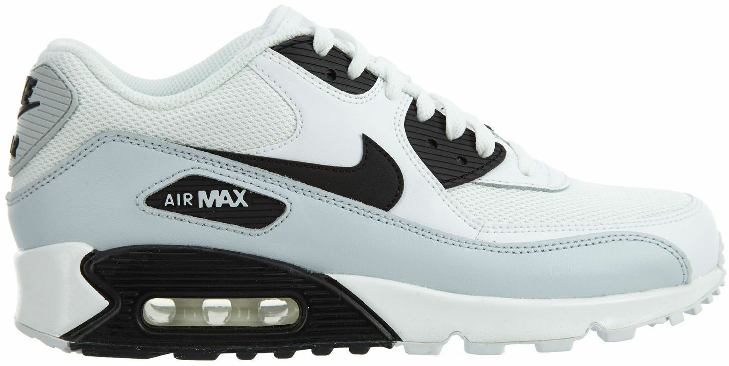 Nike Air Max 90 Essential White Black Pure Platinum