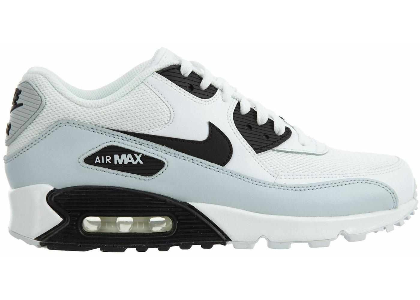 f720c658 Nike Air Max 90 Essential White/Black-Pure Platinum-White - 537384-127