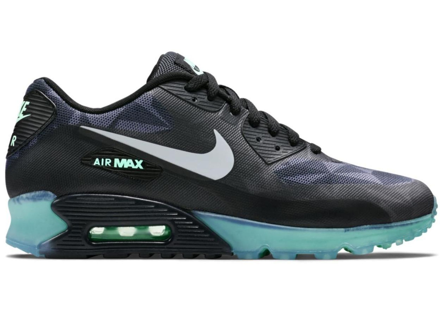 new products 18be9 bf38a Air Max 90 Ice Black Cool Grey