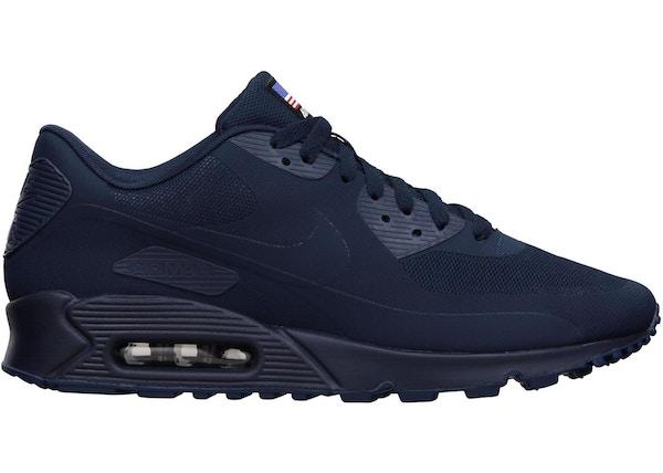 caldera longitud Ir al circuito  Nike Air Max 90 Hyperfuse Independence Day Blue - 613841-440