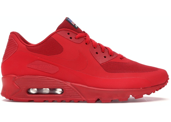 sports shoes 20ad4 4994d Air Max 90 Hyperfuse Independence Day Red