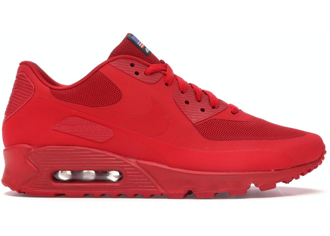 Temporada Recordar Gastos de envío  Nike Air Max 90 Hyperfuse Independence Day Red - 613841-660