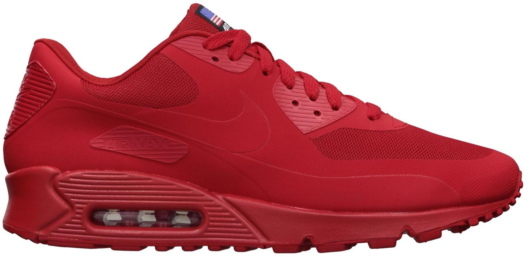 nike air max 90 red hyperfuse