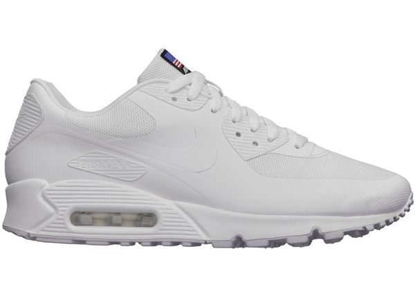 71491980154b Air Max 90 Hyperfuse Independence Day White - 613841-110