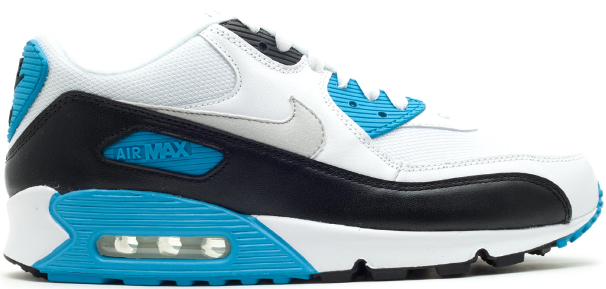 Nike Air Max 90 2010 Laser Bleu F450
