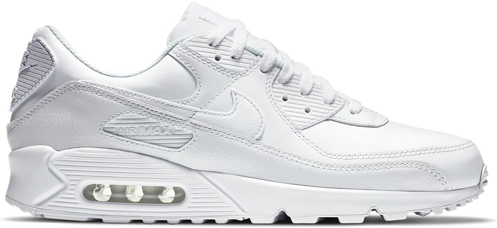 Nike Air Max 90 Leather Triple White