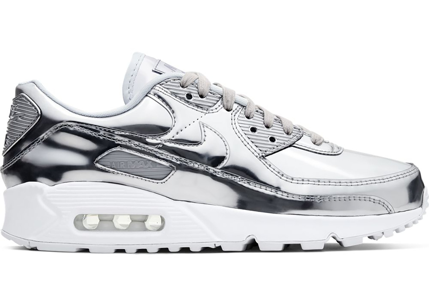 air max metallic silver