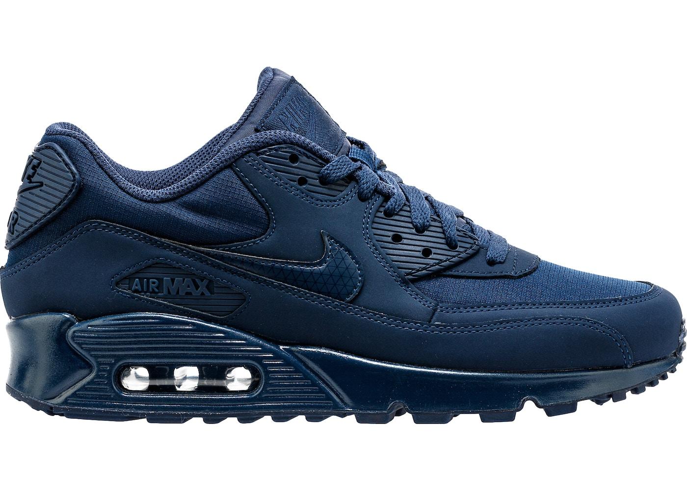 progenie máquina Silicio  Nike Air Max 90 Midnight Navy (2016) - 537384-412