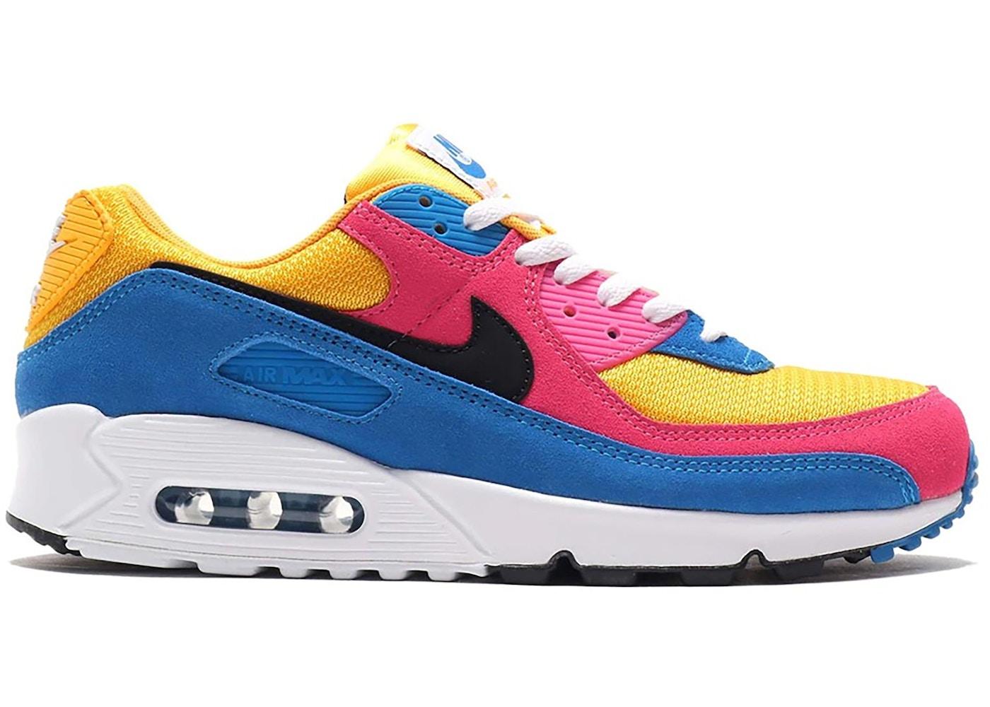 air max 90 giallo