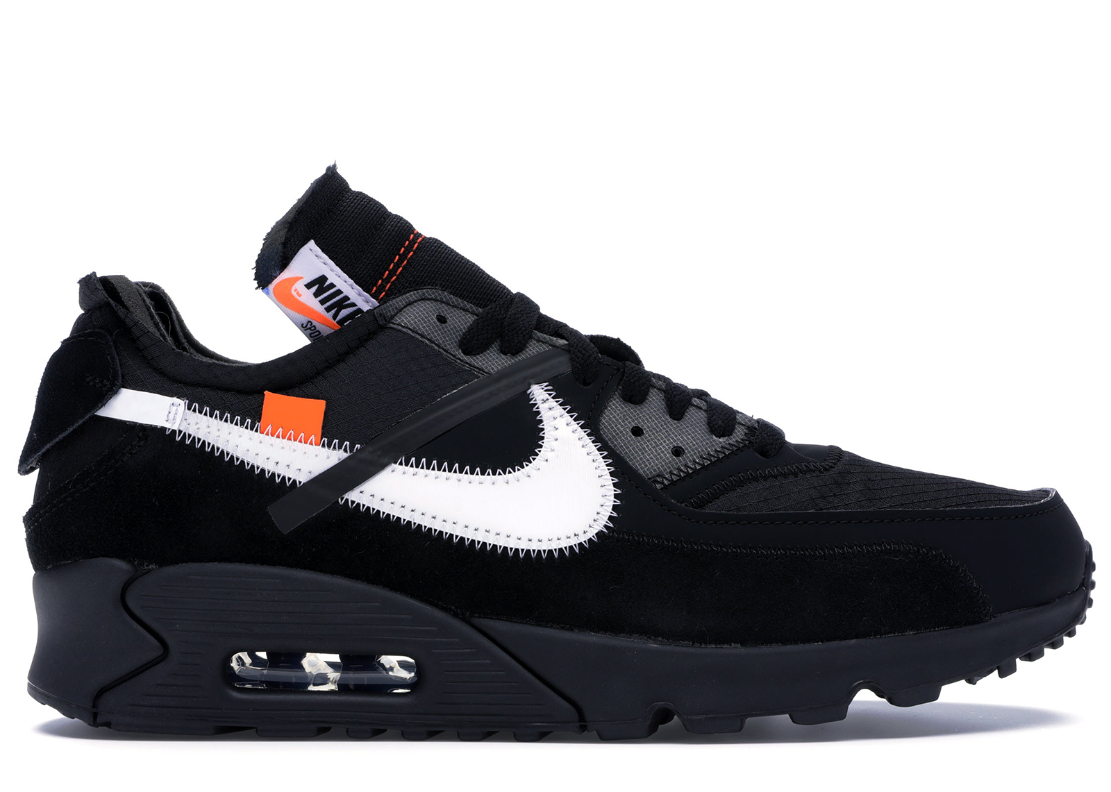 Air Max 90 OFF WHITE Black