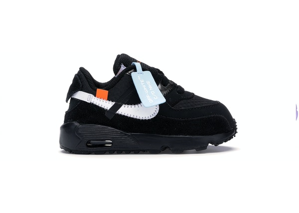 low cost c98d1 d0674 Air Max 90 OFF-WHITE Black White (TD)