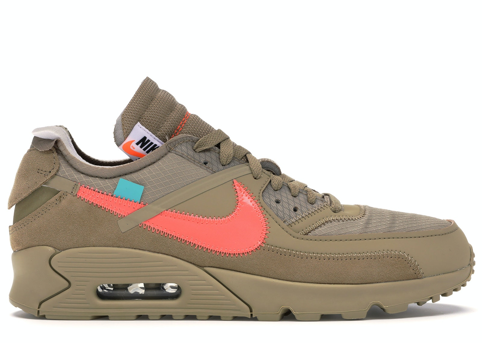 Air Max 90 OFF-WHITE Desert Ore