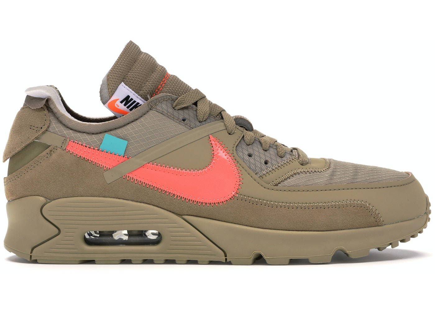97e6d3a59f7 Air Max 90 OFF-WHITE Desert Ore - AA7293-200