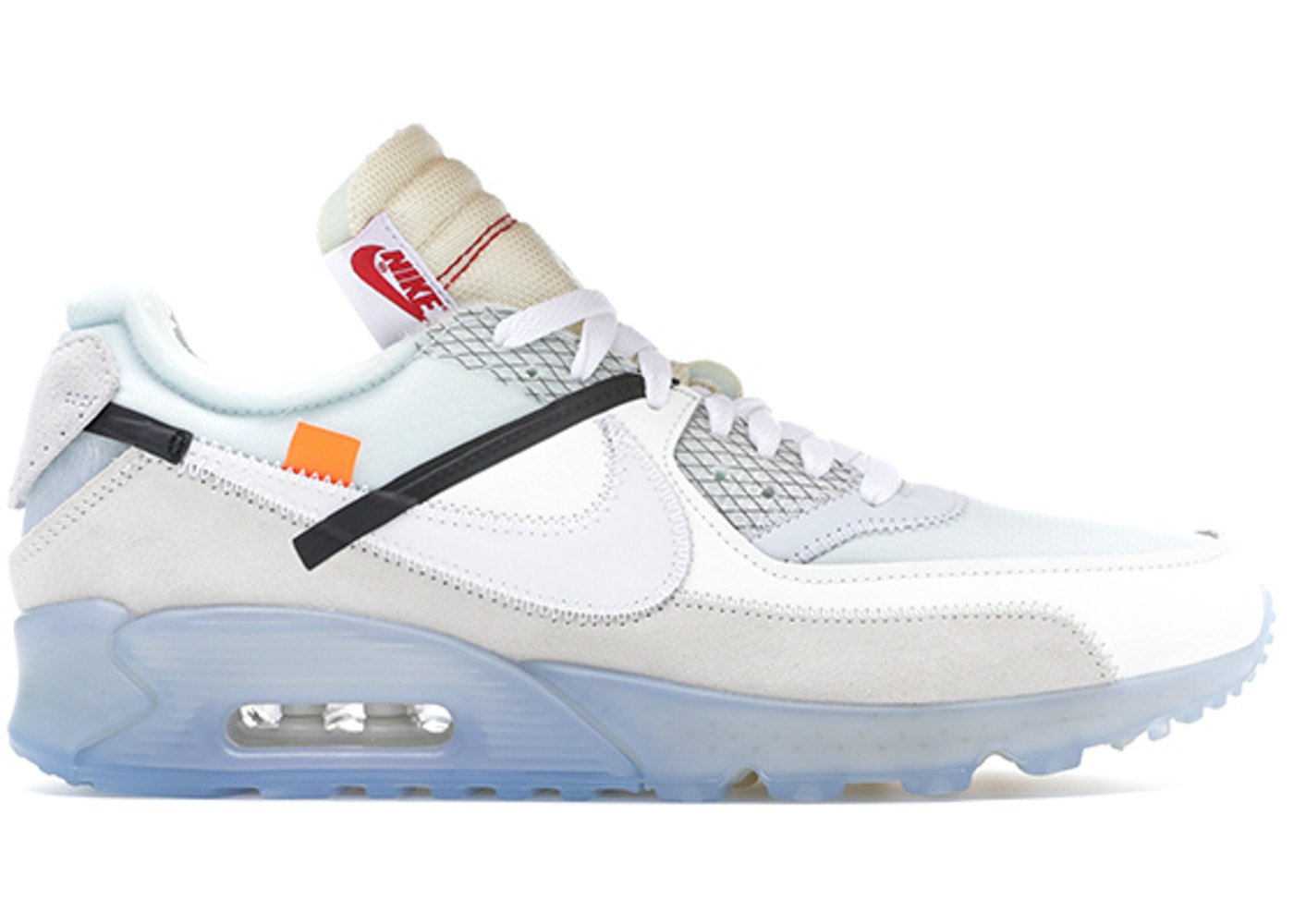 300254e3 Air Max 90 OFF-WHITE - AA7293-100