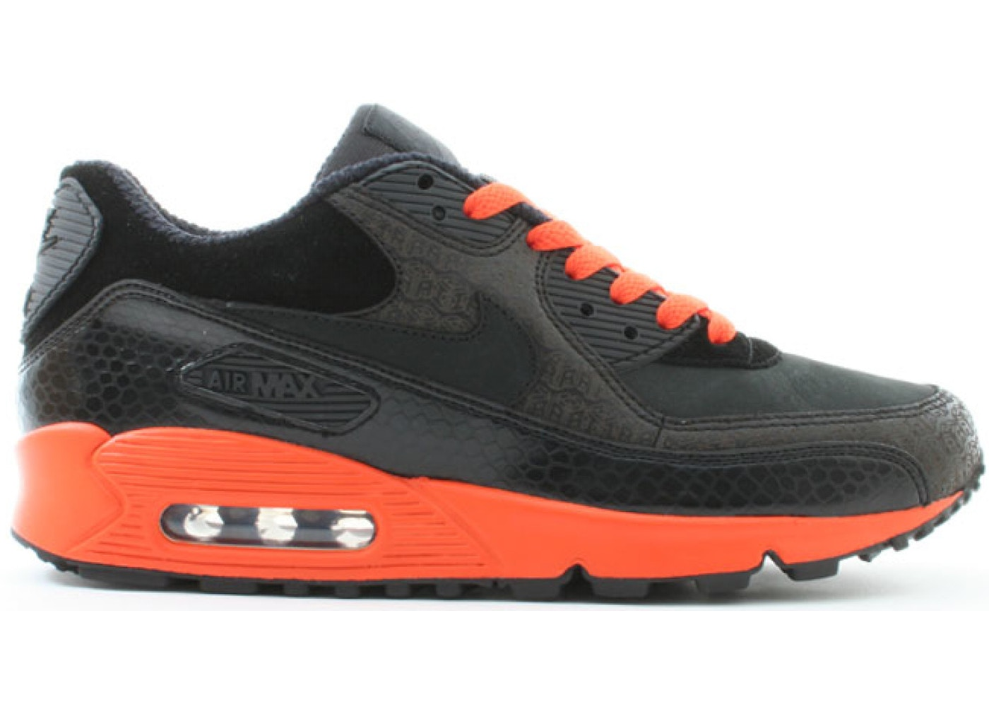 dc0dfe7c6c79 Air Max 90 Powerwall Black Orange - 314206-002
