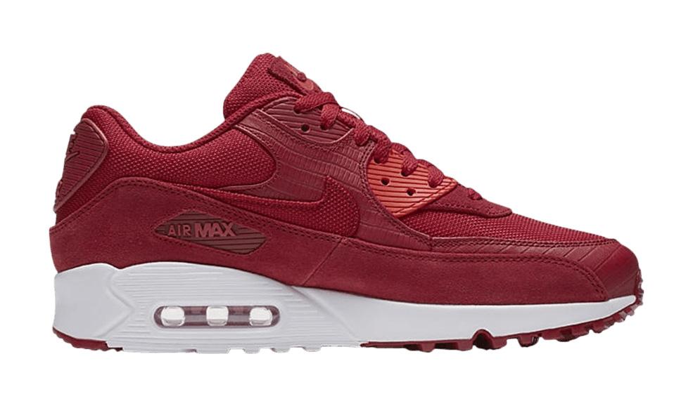 Air Max 90 Premium Gym Red