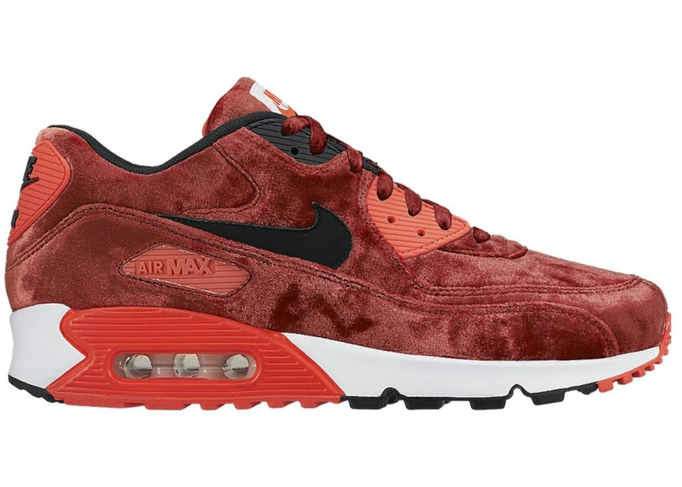 separation shoes 66fc4 1c76a Air Max 90 Red Velvet
