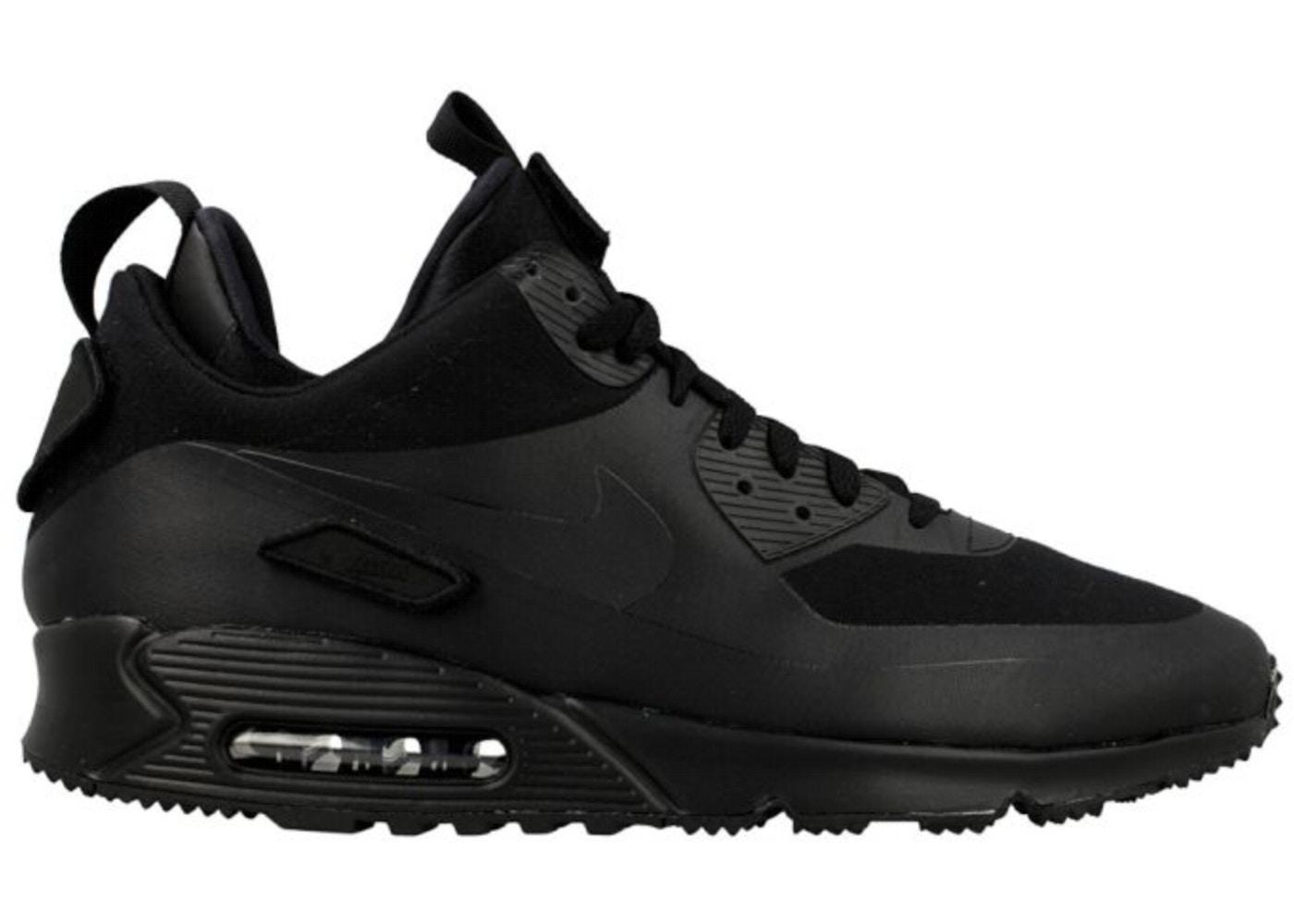 a38df68574b49 ... Air Max 90 Sneakerboot Patch Black Nike ...