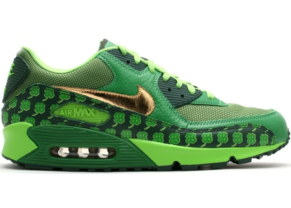new style 3a103 b3f5a Air Max 90 St. Pattys Day (2007) - 314864-371