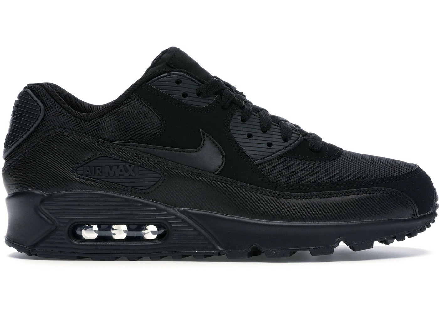 low priced c8689 6d1b4 Air Max 90 Triple Black (2018)