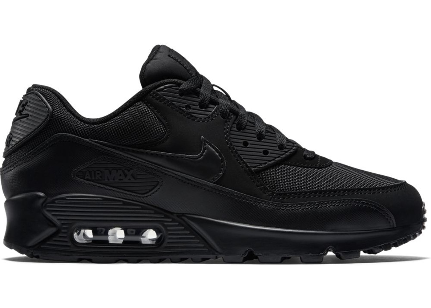 504e99c777 Air Max 90 Triple Black (2018) - 537384-090