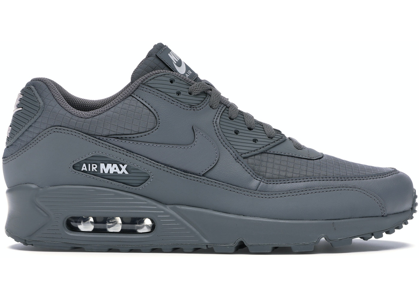 new arrival d8f64 aa58b Air Max 90 Triple Grey - AJ1285-017