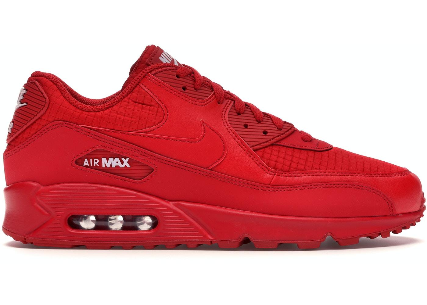 Ordenado Fielmente mercado  Nike Air Max 90 Triple Red - AJ1285-602