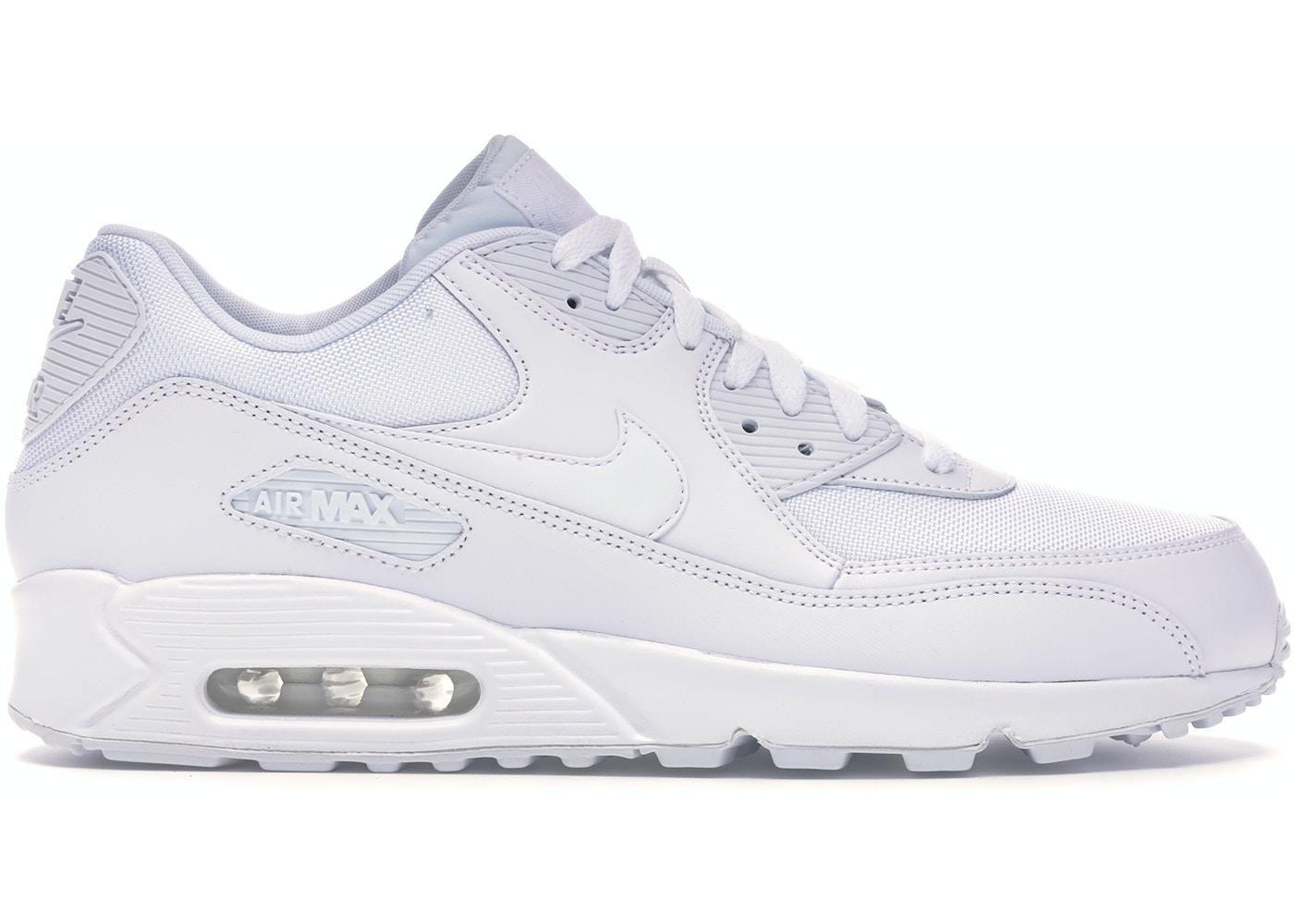 Nike Air Max 90 Triple White 537384 111