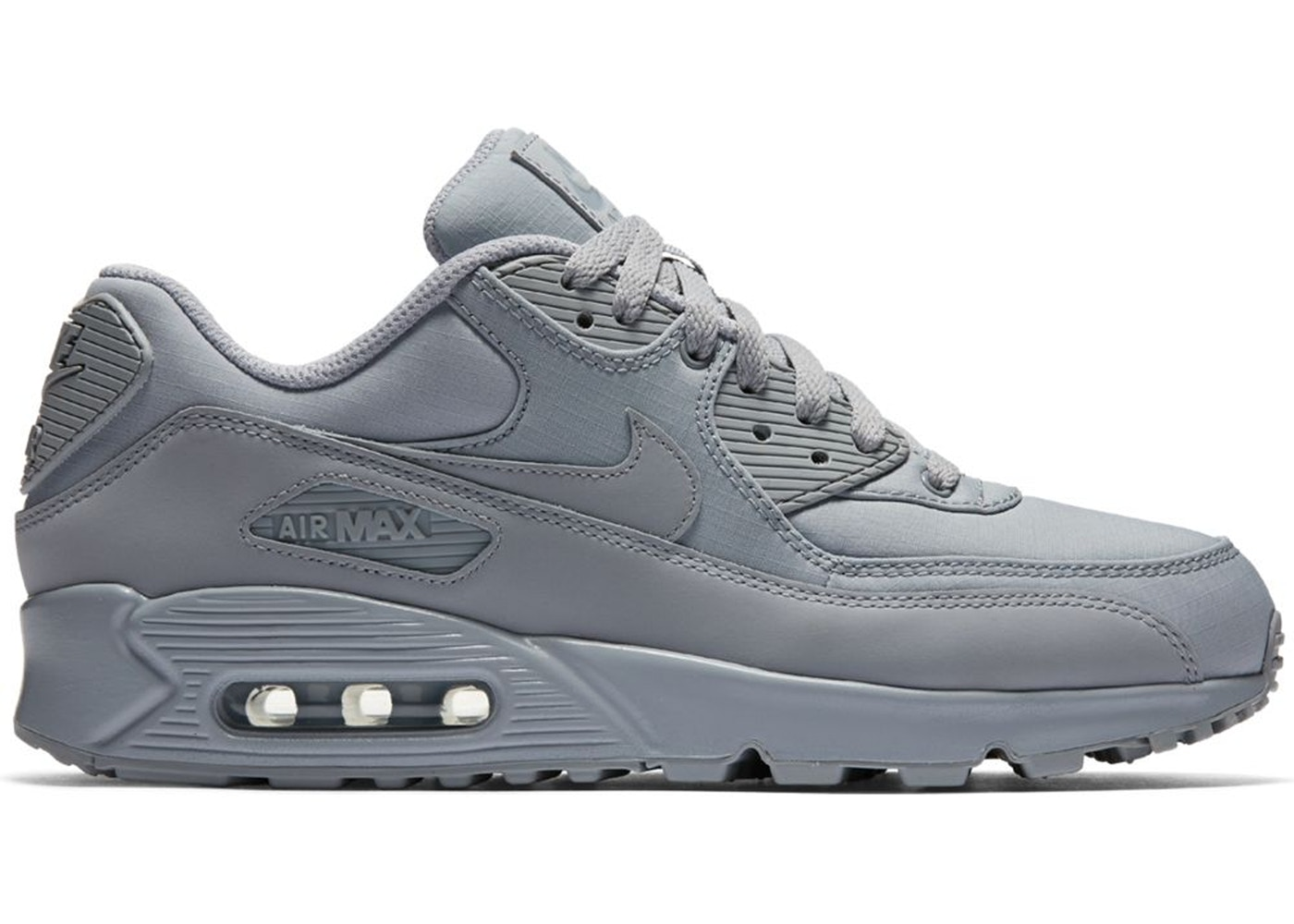 release date: 9394c be635 Air Max 90 Triple Wolf Grey