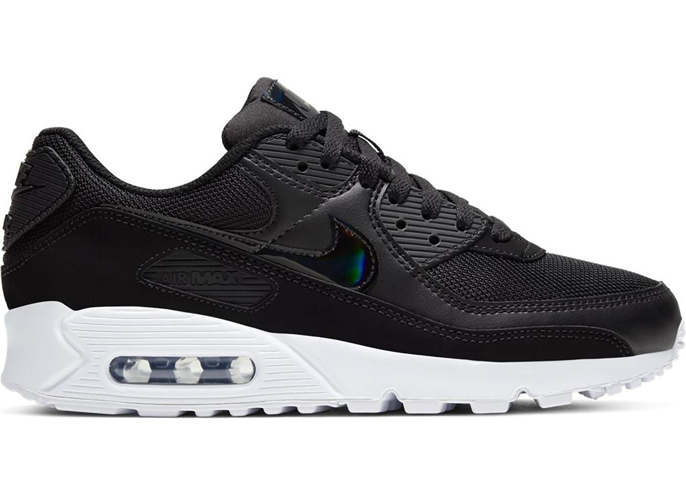 Nike Air Max 90 Twist Black White Black (W)