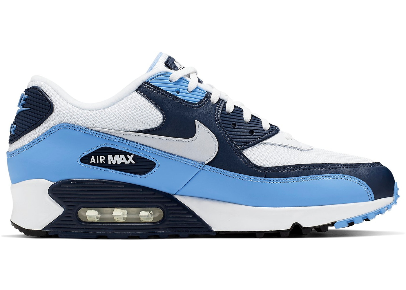 prettiest Mens 2010Nike Air Max 90 2007 White Cyber