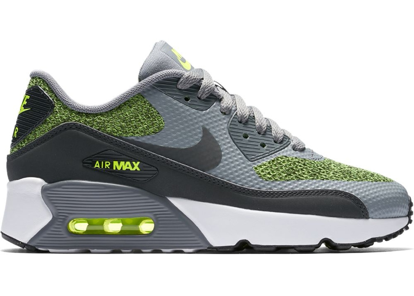 the latest ce058 bd195 Air Max 90 Ultra 2.0 Cool Grey Volt (GS)