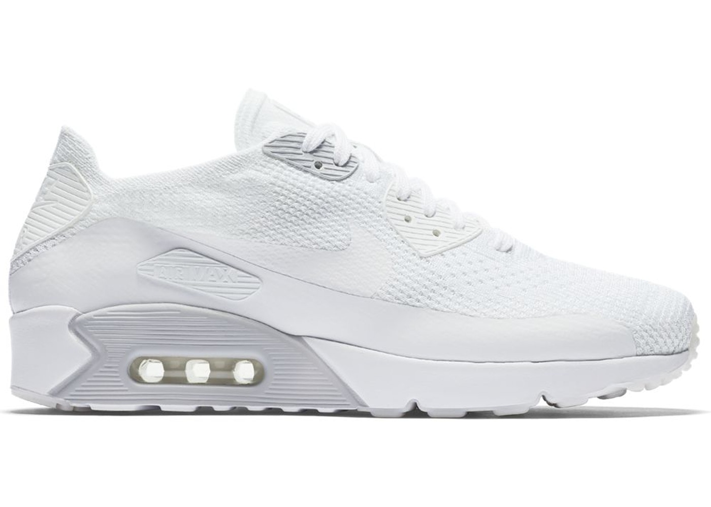 cheap for discount 29d0a 7995e Air Max 90 Ultra 2.0 Flyknit White - 875943-101