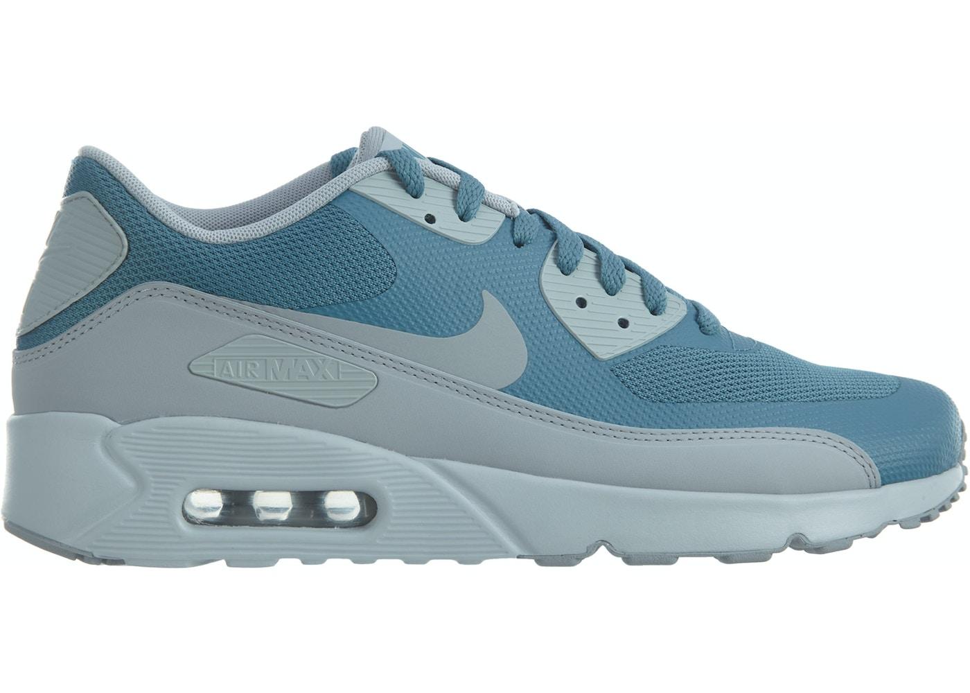 Nike Air Max 90 Ultra 2.0 Essential Smokey Blue Wolf Grey - 875695-001 5ecfb48710