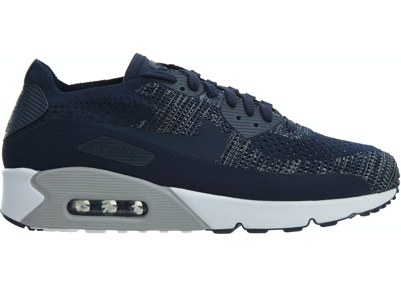 92bc1750f075 Air Max 90 Ultra 2.0 Flyknit College Navy College Navy - 875943-401