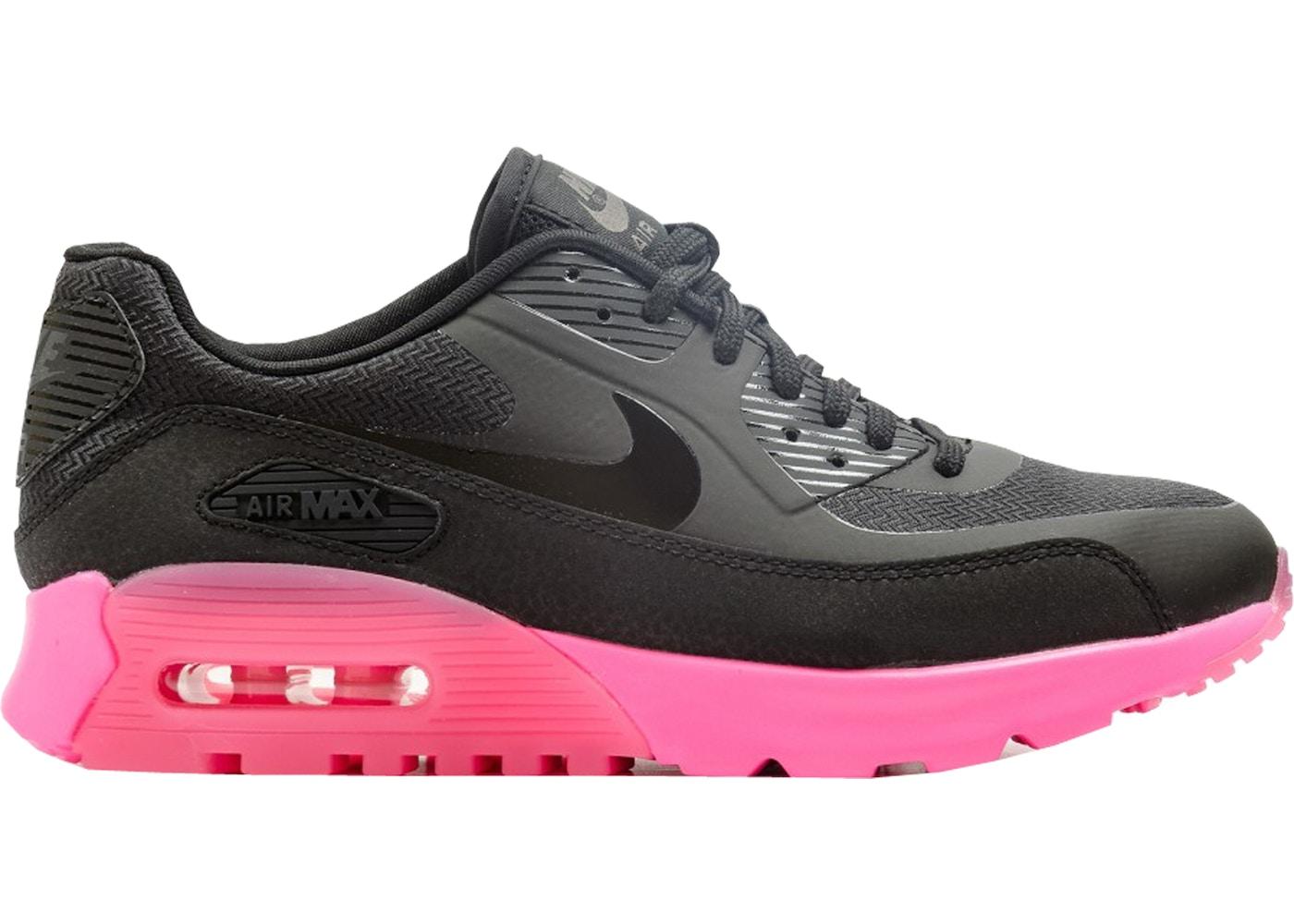 new product c61db 97e6f Air Max 90 Ultra Black Digital Pink (W)